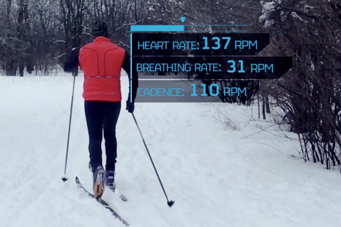 hexoskin-skiing