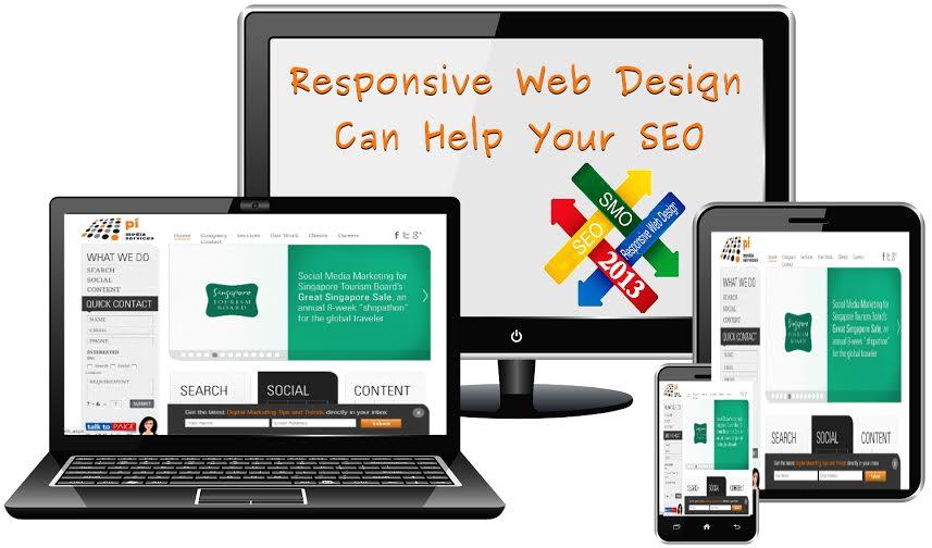 responsive design helps SEO