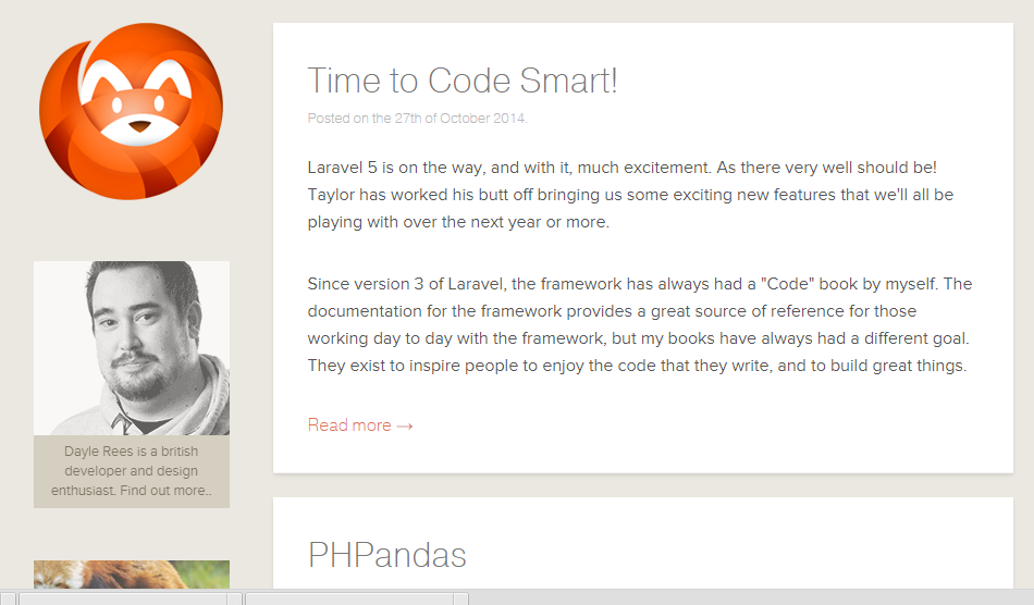 Blog Laravel Development