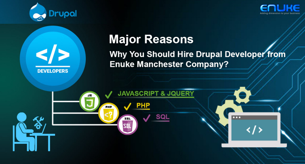 Choose Enuke Manchester Drupal Development Company