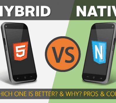 hybrid app vs native app